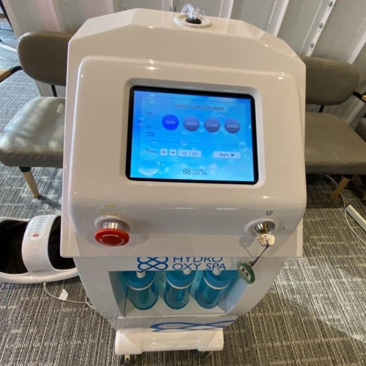 ていれぎの湯水素マシン